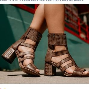 Freebird by steve madden zelda studded sandals